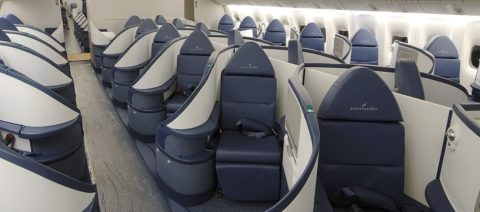 Delta Business Elite Cabin Atlanta to Johannesburg