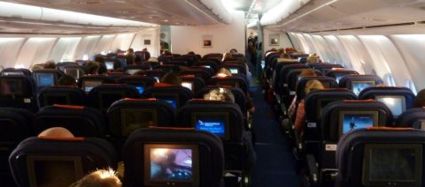 South African Airways Cabin