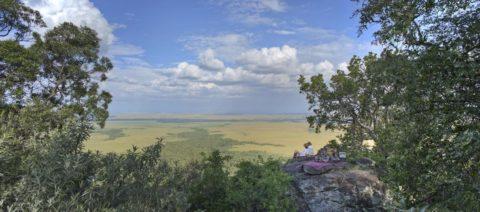 Out of Africa Picnic at Angama Mara, Kenya