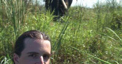 Ian and elephant