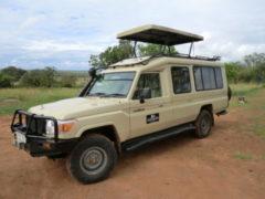 Closed 4x4 Safari Vehicle Tanzania 2