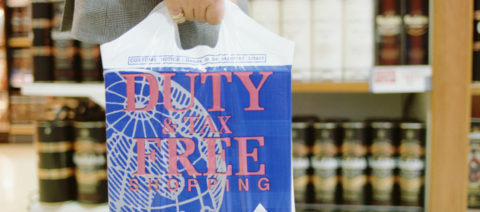 Duty Free Plastic Bag