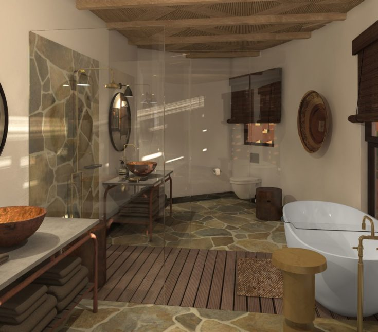 Mala Mala Main Camp Bathroom Refurbishment