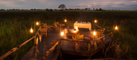 Duba Expeditions Camp Botswana